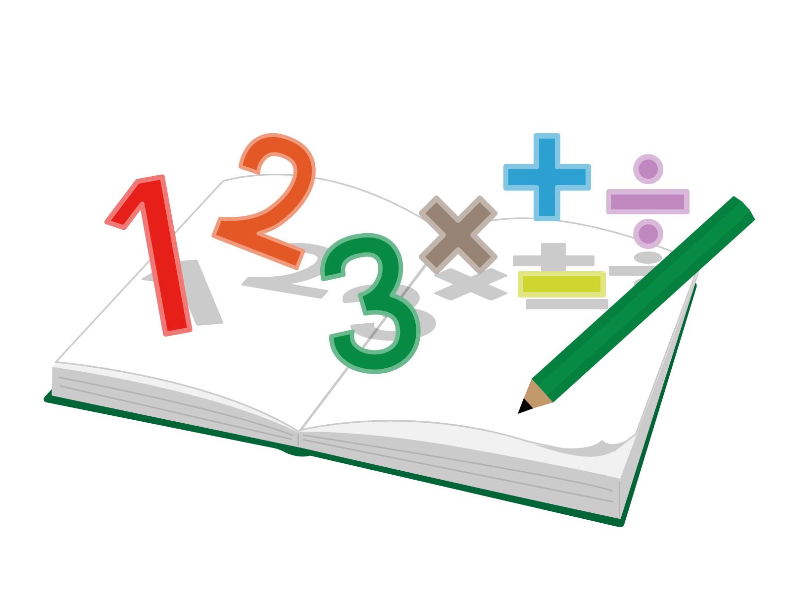 数の基本の算数