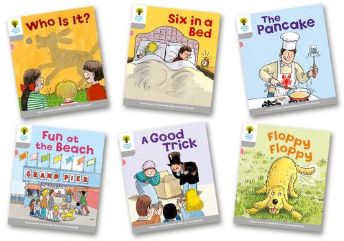 Oxford Reading Tree Stage 1 First Words Storybooks Pack